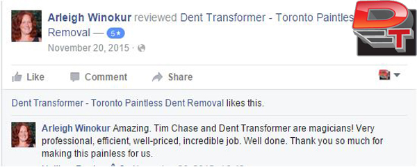 Toronto Paintless Dent Removal
